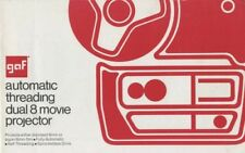 GAF Ansco Dual 8 Movie Projector Instruction Manual