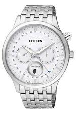 Citizen Para Hombre Eco-drive Fase Lunar Cristal De Zafiro 42mm Reloj AP1050-56A