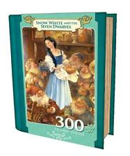 MASTERPIECES BOOK BOX PUZZLE SNOW WHITE AND THE SEVEN DWARFS 300 PC EZGRIP 31512