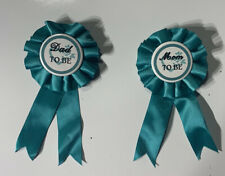 Mom To Be And Dad To Be Ribbon ~ Baby Shower Party Supplies Favor Newborn