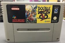 Double dragon V 5 The Shadow Falls Snes Cartridge