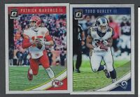 2018 Donruss Optic Football Base Veteran Stars #1-100 COMPLETE YOUR SET You Pick