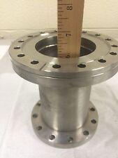 "vacuum chamber piece 6"" CF conflat to ASA-2"