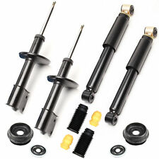4 Stoßdämpfer Gasdruck + Domlager + Staubschutz VA - Renault Clio