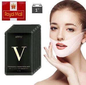 V Line Face Lifting Mask Double Chin Reducer V Shape Slimming Firming Mask Slim