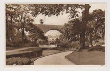 Derbyshire postcard - Ashwood Park, Buxton