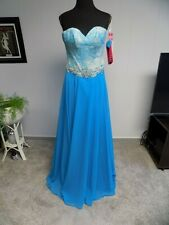 NWT Paparazzi Madeline Garner Turquoise Beaded Bridesmaid Dress Gown Formal