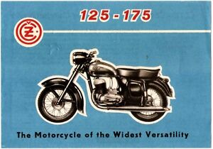 JAWA Motorcycles Literature Flyer and Booklet Weatherford Texas Dealer