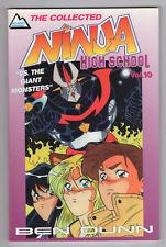 The Collected Ninja High School #10 (1996, Antarctic) Print Run 1,000 TPB v