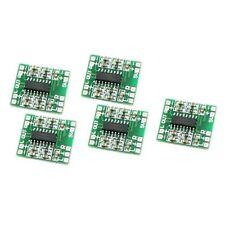 5PCS Mini PAM8403 Digital Power Amplifier Board Class D AMP 2*3W 2.5-5V input