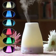 7 LED Light Ultrasonic Aroma Diffuser Humidifier Aromatherapy Essential Oil Hot