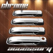 For 2009-2010 Dodge Ram 3500 Gloss Chrome Door Handle Cover Overlay Trim 4D Door