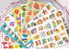 200 x scratch and sniff stickers - 10 assorted scents - Jelly Bean ,Coconut,etc