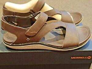 Merrell Womens Backstrap Leather Walking Sandals size US 9 EU 40 rrp $170
