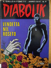 fumetto DIABOLIK ANNO XXVI numero 11