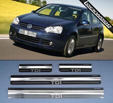 VW Golf Mk5 TDi MK5 Kick Plates Sill Protectors