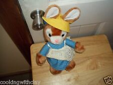 RARE VINTAGE EASTER BUNNY PLUSH DOLL FIGURE AA IMPORTING INC TOY