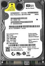 WESTERN DIGITAL WD5000BMVV-11A1CS0 500GB USB 2.0 HARD DRIVE DCM: HBBTJBBB