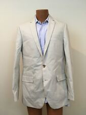 J. Crew Factory Mens Thompson Suit Jacket in Chino 38647 Stone Slim 40L Long NWT