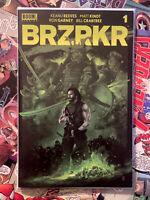 BRZRKR #1 VANCE KELLY EXCLUSIVE GREEN Variant ONLY 400! NM! IN HAND! BERZERKER