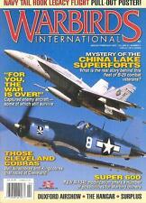 AP WARBIRDS V21 N1 CHINA LAKE B-29_CAPTURED LUFTWAFFE_CLEVELAND RACER P-39 P-63