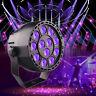 UV Par Stage Light 12x3w Led Can KTV Disco Bar AUTO Effect Violet Lighting Lamp