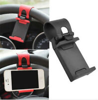 AUTO Car DECORATIVE ACCESSORIES Clip Steering Wheel Bike Handlebar Holder New