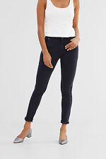 Ladies Slim Skinny EX Designer Coloured ESPRIT Jeans With Decorative ZIP-Navy