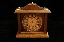 Vintage Wood & Cork Drink Coasters & Wooden Carry - Clock Face - Set of 6 -  GVC