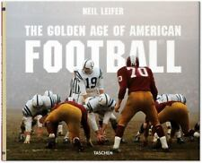 LEIFER's Golden Age of American FOOTBALL ( Hardcover) / NEW!