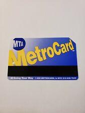 Big City, Fast Card, Fare Deal Blue Back Nyc Subway MetroCard