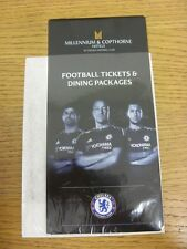 2015/2016 Chelsea: Millennium & Copthorne Hotels At Chelsea Football Club - Foot