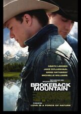 Brokeback Mountain Original Single Sided 27x40 Movie Poster Not A Reprint