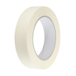 Low Tack Solvent Free Masking Tape 50m in 24mm, 38mm or 48mm