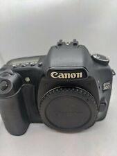 Canon EOS 30D Body Black Digital Camera - Broken