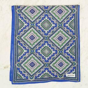 [ OROTON ] Womens Silk Print Scarf | Vintage - Rare