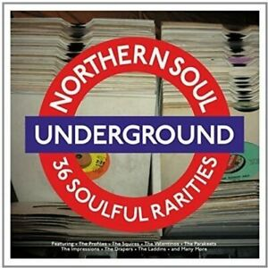 Northern Soul Underground - 36 Soulful Rarities RED VINYL 2LP NEW + SEALED