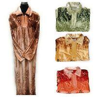 Ladies Abaya Velvet Chest Panel Robe Farasha/Maxi-Dress/Kaftan/Jilbab/Jubba