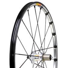 "New Mavic CrossMax SLR 26"" QR Center Lock Rear Wheel White black"