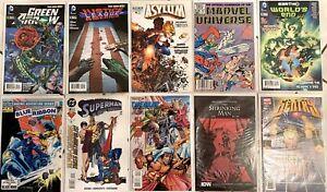 10 Comic Books Green Arrow Superman Shrinking Man Time Walker Asylum and more