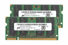 8GB 2X 4GB Micron Chips PC2-6400 Memory intel DDR2 800 Mhz RAM Laptop SODIMM @D