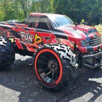 RC Ferngesteuertes AUTO Monster Truck Rennauto Spielzeug Buggys RR08D mit Akku