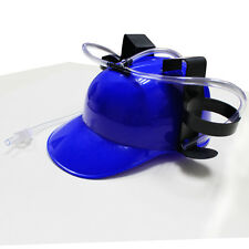 Unique Beer Pop Soda Drinking Hard Hat Helmet Can Holder Joke Toy Game