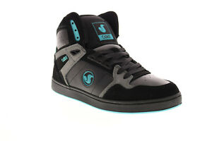 DVS Honcho DVF0000333001 Mens Black Suede Skate Inspired Sneakers Shoes