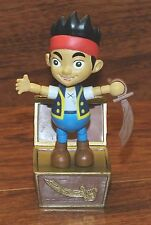 "Walt Disney Jake And The NeverLand Pirates Jake 4"" Inch Figurine Bendable Toy!"