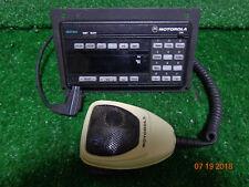 Motorola spectra ASTRO XTL5000 VHF SYS 9000  HCN1078J W9 Head / Mic / Faceplate
