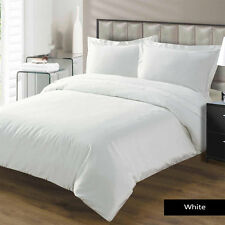 NEW BED COLLECTION WHITE SOLID 1000 TC 100% EGYPTIAN COTTON SELECT SIZE & ITEM