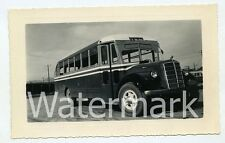1940s Vintage  photo Mack Bus Fort Bliss NM TX #2