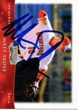 Matt Skole 2014 Harrisburg Senators Signed Card