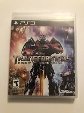 Transformers: Rise of the Dark Spark PS3 New PlayStation 3, Factory Sealed